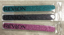 SET OF 3 DIFFERENT COLORS REVLON DIAMOND COLLECTION NAIL FILE