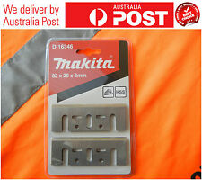 MAKITA 100% AUTHENTIC 82MM HSS RE-SHARPENABLE PLANER BLADES FOR N1900B ETC