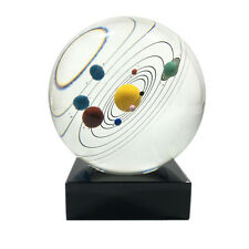 Galaxy 8 Planets Solar System Planet Crystal Ball Decor Astronomical Gift