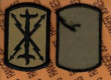 US ARMY 17th Field Artillery Brigade FA OCP Hook & Loop uniform patch