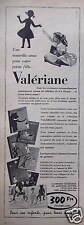 PUBLICITÉ 1958 VALÉRIANE LIVRES D'ENFANT NOUVELLE AMIE POUR VOTRE PETITE FILLE