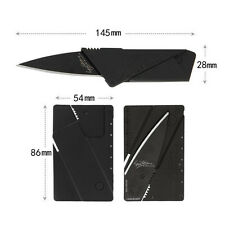Multi-function Cardsharp Credit Card Folding Wallet Knife Camping Tools Outdoor