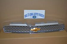 2012 2013 2014 Chevrolet Impala Front Upper Silver GRILLE new OEM 22865902