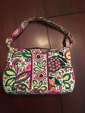 Vera Bradley Viva la Vera Small Hobo Purse Bag, Preowned, Retired pattern