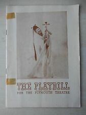 April 22nd, 1946 - Plymouth Theatre Playbill - Lute Song - Mary Martin