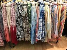 Wholesale Job Lot Ladies Scarfs Variety Of Prints  Summer Collection 30 Pcs Mix
