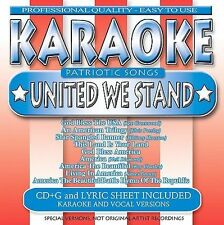 Karaoke: Patriotic Songs, United We Stand by Various Artists NO FRONT ARTWORK