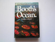 Booths Ocean by James A Beard 1971 Great Fish Seafood recipes