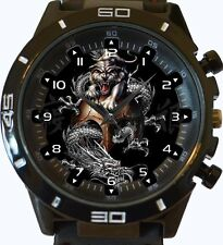 Chinese Dragons Yin Yang New Gt Series Sports Unisex Watch
