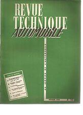 R.T.A. REVUE TECHNIQUE AUTOMOBILE N° 142 02/ 1958 DIAMOND T SIMCA ARONDE