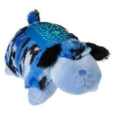 "Pillow Pets Dream Lites - Blue Camo Dog 11"" New"