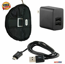 Samsung Galaxy Tab Nook S2 2AMP Charger 2 Port Charging USB Cable Barnes & Noble