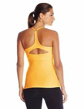 NWT Beyond Yoga Women's Y-Open Back Cami Top XL Extra Large Peach