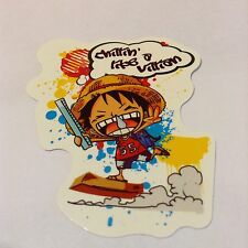 Pegatina/sticker/autocollant/ Vinyl/ Vinilo: One Piece