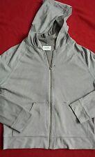 Next sports lux zip top hoodie velour suede look 10/12 on trend ladies casual