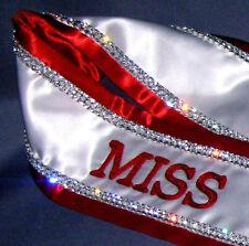 Custom Embroidered Luxury Rhinestone Pageant Sash