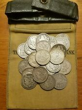 Antique Iconic US Morgan Silver Dollar Coin Lot - 1 Old Coin from 1878 to 1904.