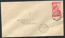 ST. LUCIA: (14843) RSW/GROS-ISLET cancel/cover