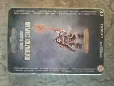 WARHAMMER 40K DEATHWATCH CHAPLAIN - NEW & SEALED