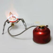 Portable Gas Stove Furnace Split Burner Outdoor Camping Hiking Picnic Cookout YY