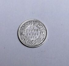 INDIA VICTORIA 1876 QUARTER RUPEE VERY NICE CONDITION VERY NICE RARE COIN
