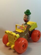Vintage Fisher Price Jalopy Clown Car Collectible Toy