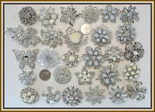 30 pc PINS Brooches Faux PEARL Bling Wedding Bouquet