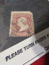 U.S. Stamp - 1861 Franklin - Used - Cat. No 65