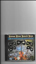 "STONES RIVER RANCH BOYS, CD ""28 ALL-TIME FAVORITE INSTRUMENTALS"" NEW SEALED"