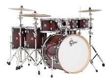 Gretsch Catalina Maple 7 Piece Drum Kit with Hardware-Dark Cherry Burst