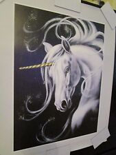 VTG UNICORN POSTER 1983 SCAFA-TORNABENE NO 162-6574 NEW OLD STOCK