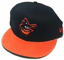 Baltimore Orioles New Era 9Fifty MLB Retro Swth Black Orange Snapback Hat Cap