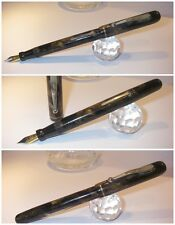 stilografica Vintage Majestic USA 1930 fountain Pen Lever Fill - Stylo Nib siz F
