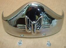 Rear Fender Tip for Harley Panhead, Rigid