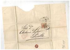 1872 Gutierrez y Del Rio Mexico Cover to Puebla Dr Antonio Lopez 2