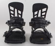 2014 K2 COMPANY SNOWBOARD BINDINGS $230 black LARGE 8-11 harshmellow USED