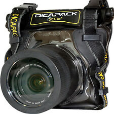 Nikon D5100 D5200 D5300 D-SLR Camera Underwater Housing Waterproof Case Bag
