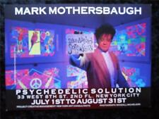 Mark Mothersbaugh Show Announcement at Psychedelic Solution Postcard 5X7 1987