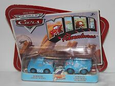 DINOCO CHICK HICKS & LIGHTNING MCQUEEN Disney Pixar Cars Dream WoC M1901 NEW