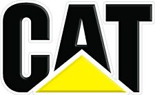 CAT Caterpillar Decal Pair - Semi, Trailer, Truck, Window Sticker  High Quality!