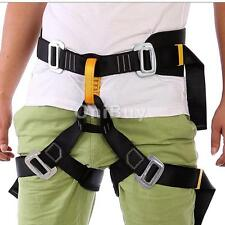 Safety Harness Bust Seat Belts Mountaineering Rappelling Rock Climbing Gear