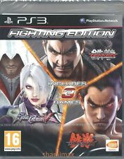Tekken Tag Tournament 2 / Tekken 6 / Soul Calibur V - 3 Games in 1 New PS3