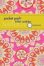 Pocket Posh Killer Sudoku 2 : 100 Puzzles by Puzzle Society Staff (2013, Paperba