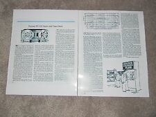 Pioneer RT-707 Open-Reel Review,2 pgs,1977, Full Test