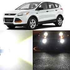 Alla Lighting Fog Light 5202 6000K Super White LED Bulbs for 2007~12 Ford Escape