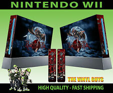 NINTENDO WII STICKER BAYONETTA WITCH DECAL GRAPHIC SKIN & 2 PAD SKINS