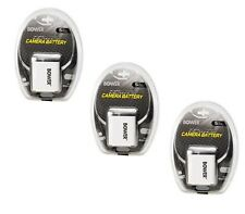 THREE 3X NP-BK1 NP-BKI Batteries for Sony DSC-W190 MHS-CM5 MHS-PM1 MHS-PM5 PM5K