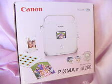 "NEW CANON PIXMA MINI 260 PORTABLE PHOTO PRINTER "" NEW IN BOX "" NR"
