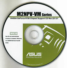 ASUS M2NPV-VM Motherboard Drivers Installation Disk M839