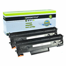 2PK CE285A 85A Toner Cartridge For HP 85A Laserjet Pro M1214nfh P1102w Printer